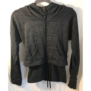 Athleta Zip Up Hooded Sweatshirt